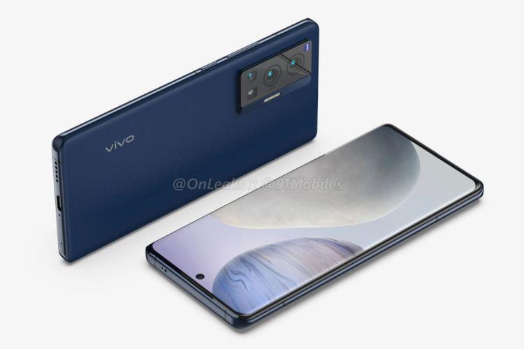 Bocoran wujud ponsel Vivo X70 Pro