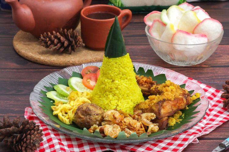 Resep Tumpeng Nasi Kuning Hidangan Untuk Rayakan 17 Agustus