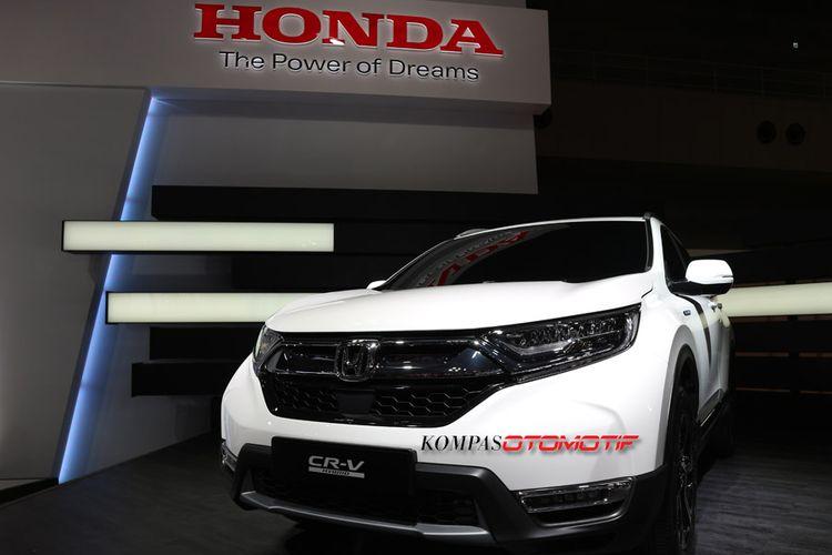 Honda CR-V Hybrid di Tokyo Motor Show 2017