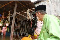 Gubernur Riau dan Danrem Tinjau Banjir Pekanbaru, Sempat Evakuasi Seekor Kucing