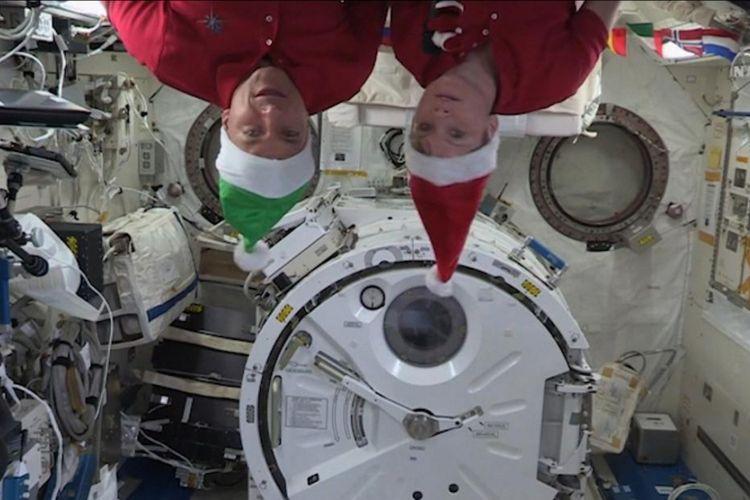 Liburan Natal ala Astronot di ISS