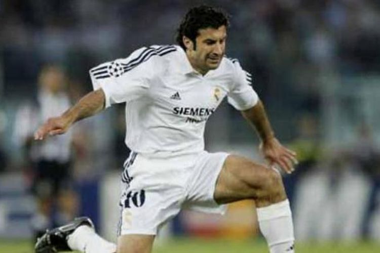 Mantan pemain Real Madrid, Luis Figo