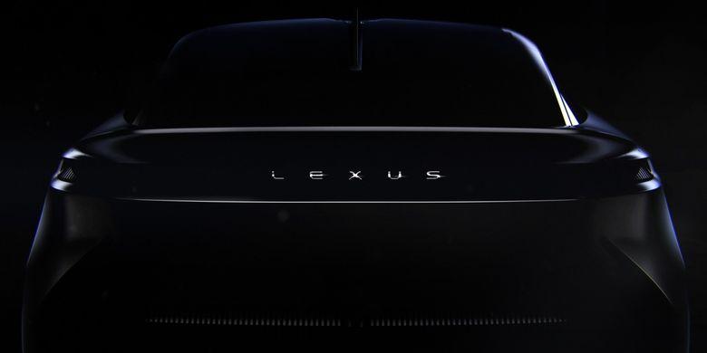 Bocoran penampilan Mobil listrik Lexus terbaru.