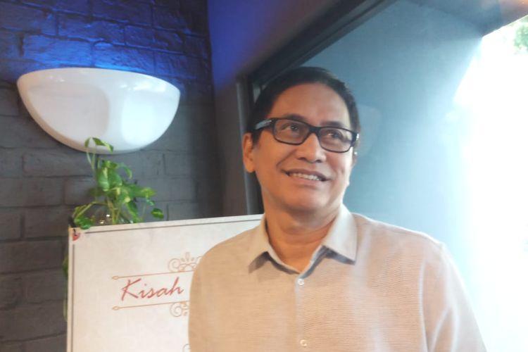 Musisi Addie MS saat ditemui di kawasan Cipete Utara, Kebayoran Baru, Jakarta Selatan, Selasa (14/1/2020).