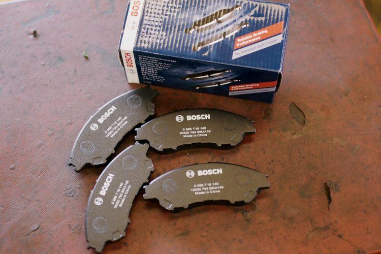 Kampas rem Bosch Reliable Braking Performance