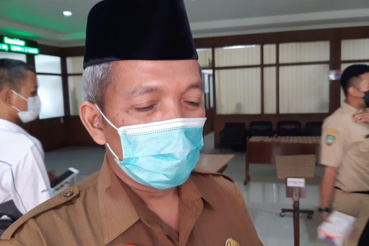 Kepala Kantor Kementerian Agama Kota Surakarta Hidayat Maskur di Solo, Jawa Tengah, Senin (19/4/2021).