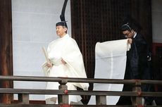 Lengkapi Ritual Penobatan, Kaisar Naruhito