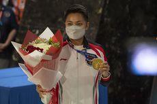 Diabadikan Jadi Nama Gedung Olahraga di Kendari, Apriani Rahayu Ungkap Perasaannya