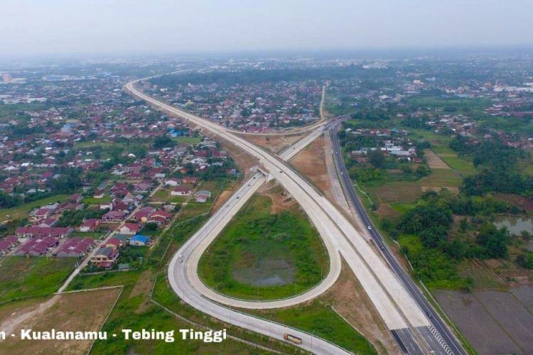 Jalan Tol Medan-Kualanamu-Tebing Tinggi