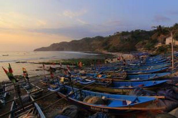 Pantai Menganti di Kebumen, Jawa Tengah