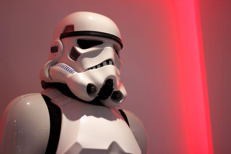 Ilustrasi Stormtrooper.