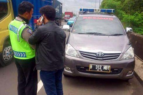 Polisi Akan Razia Kendaraan Umum yang Gunakan Lampu Rotator