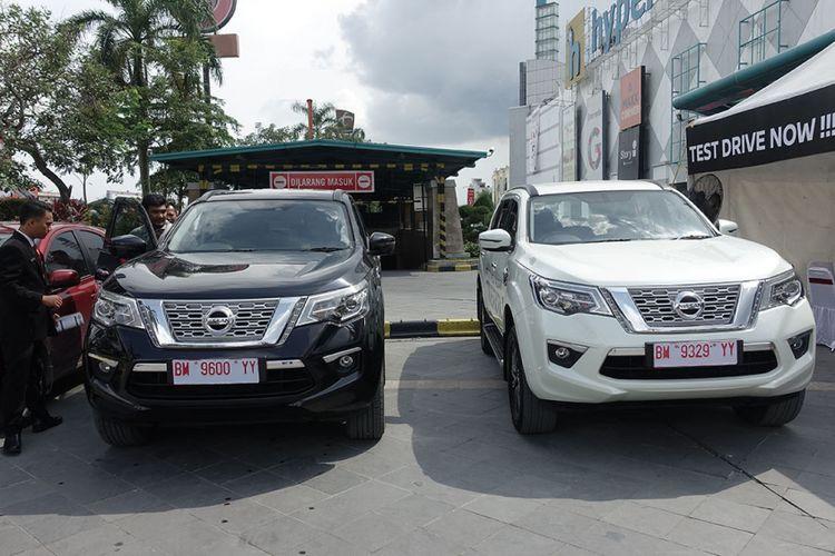 Nissan Terra tiba di Pekanbaru, Riau