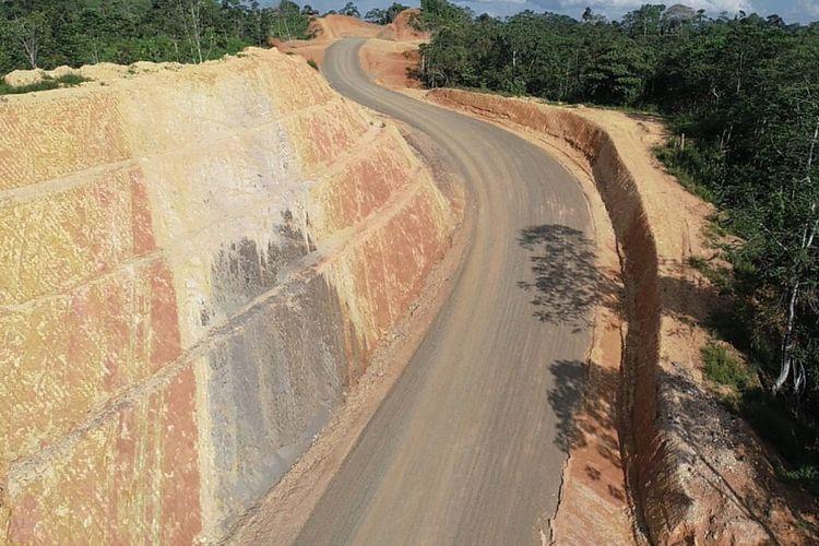 Kondisi Terkini Jalan Perbatasan Indonesia-Malaysia