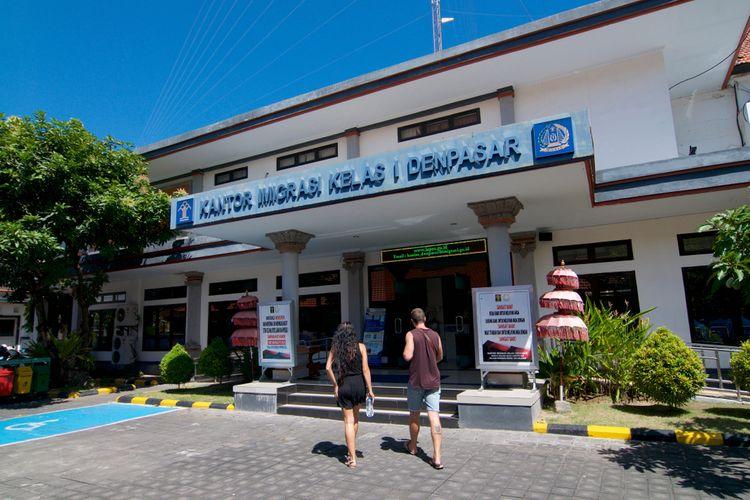 Ilustrasi kantor imigrasi di Bali.