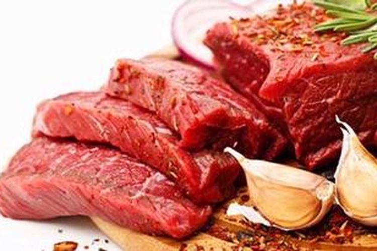 Daging sapi yang bersih (lean meat) hanya mengandung 2,8 gr per 100 gram daging.