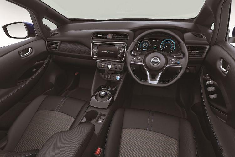 Interior New Nissan Leaf 2017.