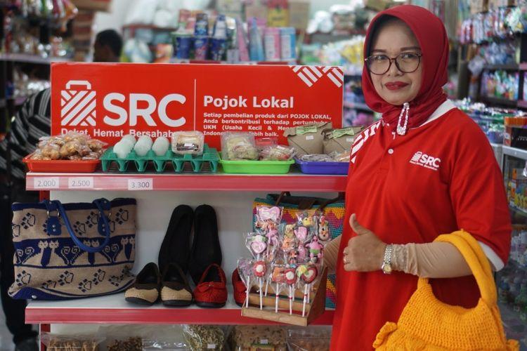 Nurul Farida sang pemilik toko kelontong SRC Hidayah