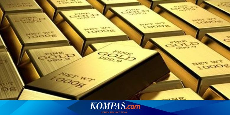 ANTM Akhir Pekan, Harga Emas Antam Turun Rp 4.000