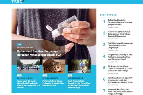 [POPULER TREN] Daftar Hand Sanitizer Berbahaya | Jadwal Pelaksanaan CPNS Terbaru
