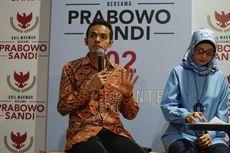 Gamal Albinsaid Enggan Disebut Jadi Pengganti Ratna Sarumpaet di Tim Prabowo