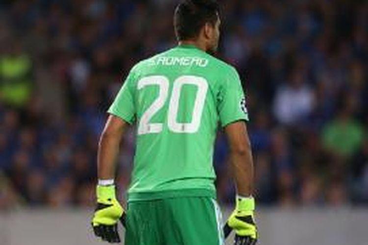 Kiper Manchester United asal Argentina, Sergio Romero.