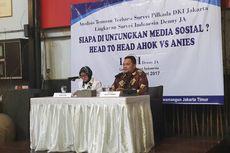 LSI Denny JA: Pengguna Medsos Puas Kinerja Ahok, tetapi Pilih Anies