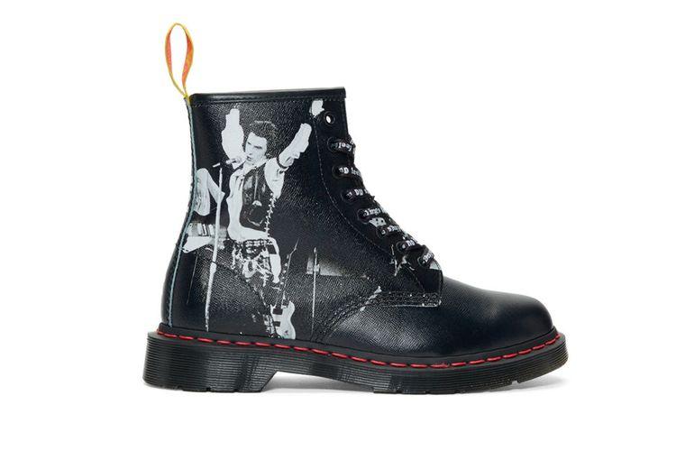 Sex Pistols x Dr. Martens The all-black 1460 boots
