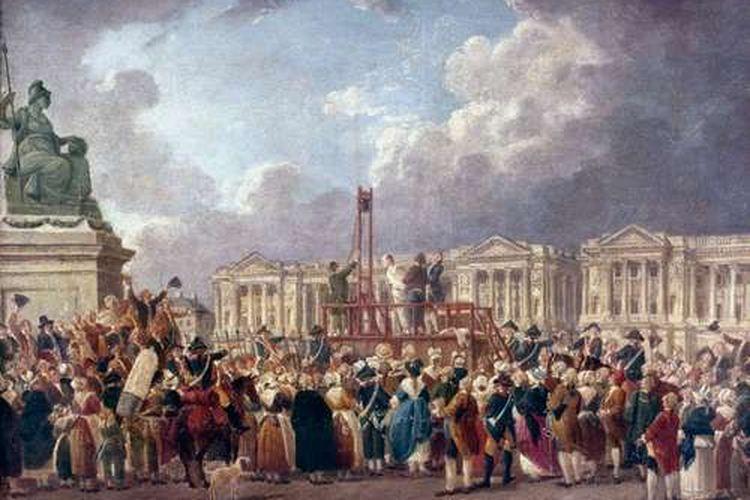 ilustrasi revolusi Perancis