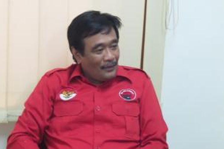 Ketua DPP PDI Perjuangan Bidang Keorganisasian Djarot Saiful Hidayat