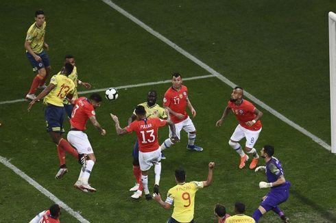 Kolombia Vs Cile, Menang Adu Penalti, Alexis Sanchez dkk ke Semifinal