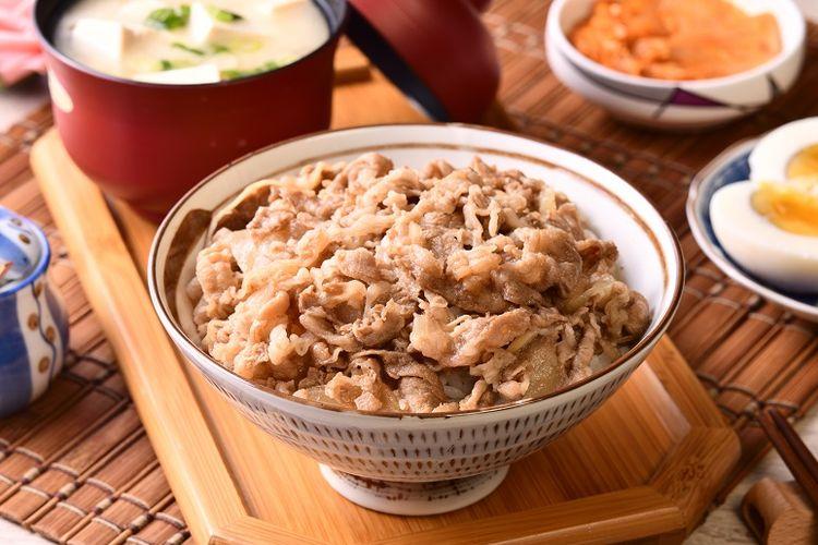 Ilustrasi Gyudon, Beef Rice Bowl