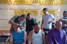 Perolehan Suara Faida-Vian Tertinggal dari Hendy-Gus Firjaun, Anggota DPRD Jember Cukur Gundul