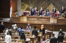 Rapat Paripurna DPR: 58 Orang Anggota Dewan Hadir Fisik, 198 Secara Virtual