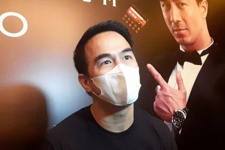 Aktor Joe Taslim saat ditemui di kawasan Cikini, Jakarta Pusat, Jumat (23/4/2021).