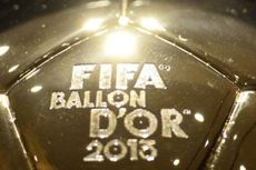 Hasil Lengkap FIFA Ballon d'Or Gala 2013