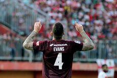 Bursa Transfer Liga 1, Agen Benarkan Aaron Evans Sedang Dibidik PSS