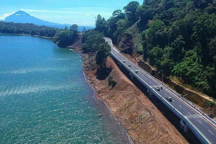 Pembangunan jalan pintas dari ruas Mengwitani-Singaraja sepanjang 12,76 kilometer di Bali.