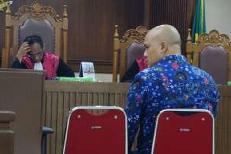 Anggota Komisi III DPR, I Putu Sudiartana di Pengadilan Tipikor Jakarta, Rabu (12/10/2016).