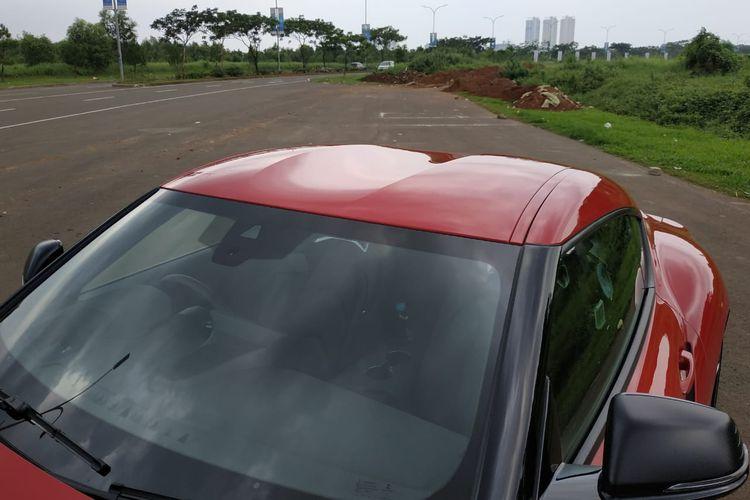 Atap Toyota Supra 2019 punya desain menarik yang sarat unsur aerodinamis