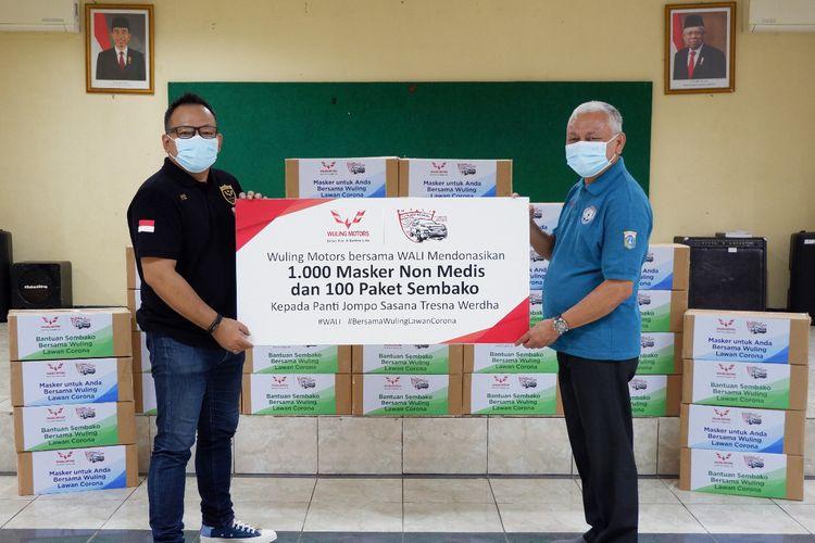 Aksi sosial dari Komunitas Wuling Almaz Indonesia (WALI).