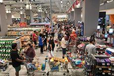 Lockdown, Warga Malaysia yang Panik Serbu Supermarket