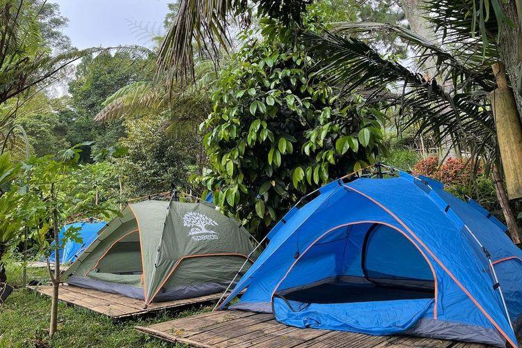 Lembah Pinus Camp & Cafe, Bogor, Jawa Barat DOK. Instagram.com/lembahpinus.id