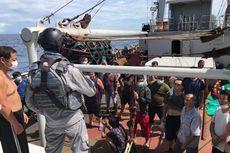 Kapal Ikan China Rusak Kemudi di Natuna hingga Terapung-apung, Dievakuasi Bakamla
