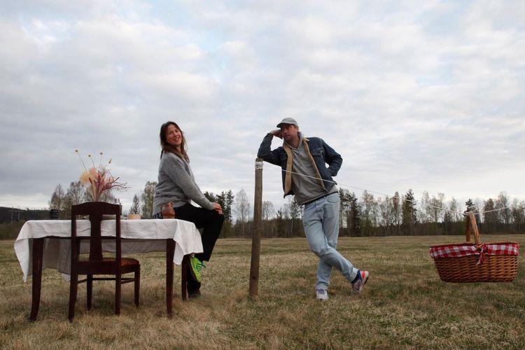 Rasmus Persson dan Linda Karlsson, pemilik restoran Bord For En