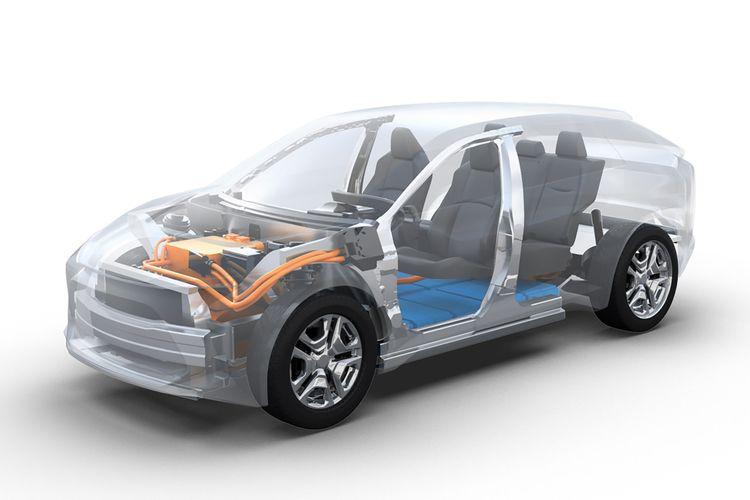 Dalam pengembangan SUV listrik terbarunya, Toyota kabarnya bakal berkolaborasi dengan Subaru.