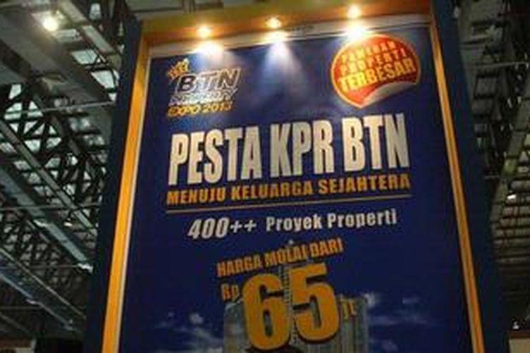 BTN menggelar BTN Property Expo 2013 di JCC, Jakarta, mulai Sabtu (2/2/2013) hingga Minggu (10/2/2013). Pameran ini diikuti 220 pengembang dan menyajikan lebih dari 400 proyek perumahan di seluruh Indonesia. Selama pameran berlangsung, masyarakat akan mendapatkan banyak fasilitas dan kemudahan KPR dan KPA.