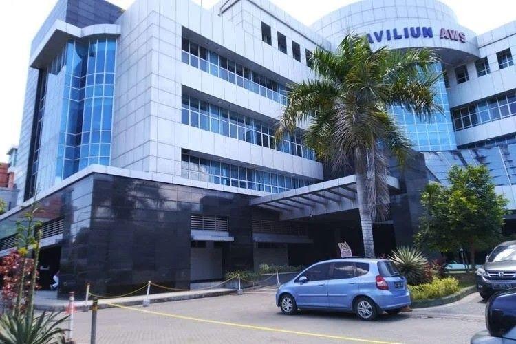 Rumah Sakit Umum Daerah (RSUD) Abdul Wahab Sjahranie (AWS) Samarinda, Kaltim, Rabu (18/4/2020).