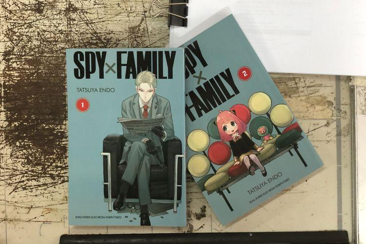 Sampul komik Spy x Family karya komunikus Tatsuya Endo