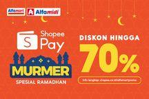 ShopeePay Gandeng Alfamart dan Alfamidi Tawarkan Promo Murmer Ramadhan